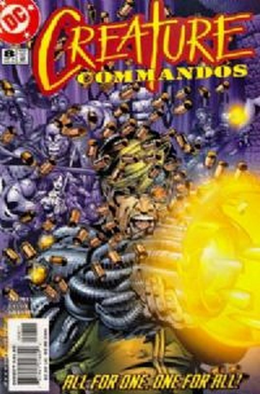 Cover of Creature Commandos (2000 Ltd) #8. One of 250,000 Vintage American Comics on sale from Krypton!