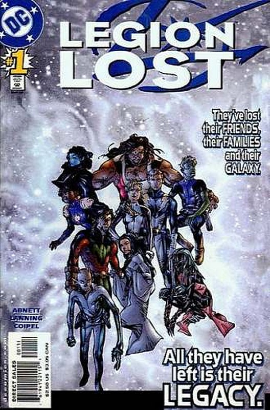 Cover of Legion Lost (2000 Ltd) #1. One of 250,000 Vintage American Comics on sale from Krypton!