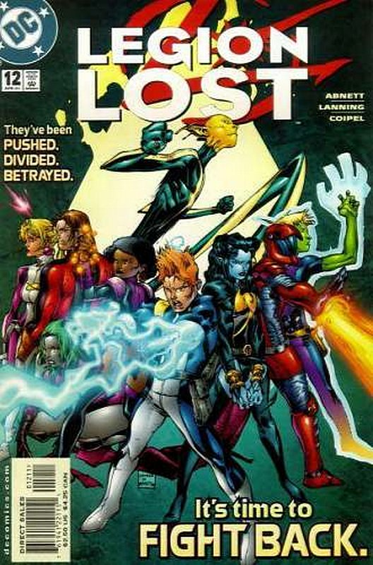 Cover of Legion Lost (2000 Ltd) #12. One of 250,000 Vintage American Comics on sale from Krypton!