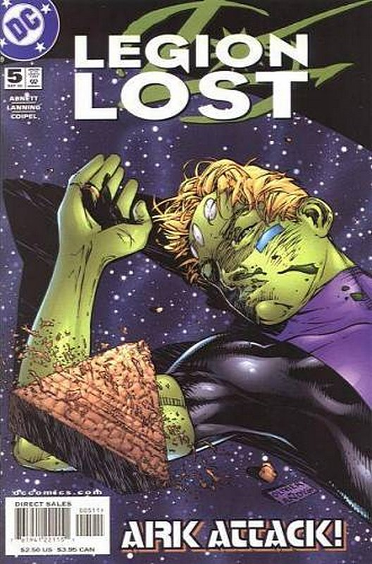 Cover of Legion Lost (2000 Ltd) #5. One of 250,000 Vintage American Comics on sale from Krypton!