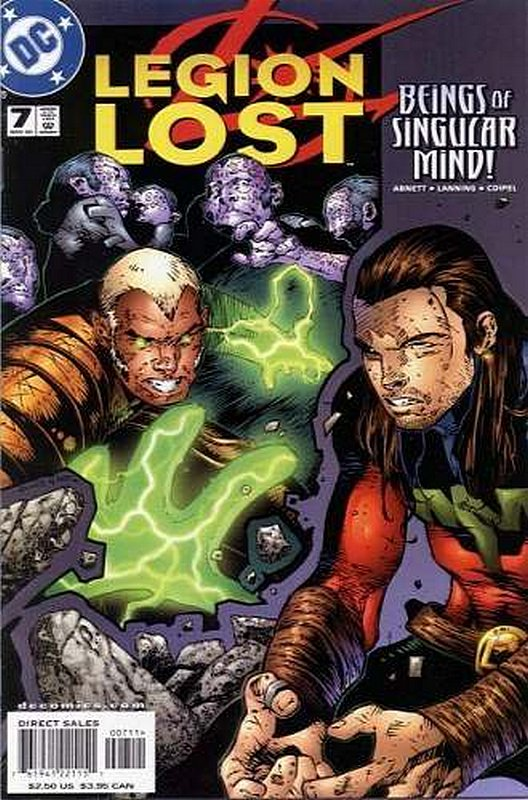 Cover of Legion Lost (2000 Ltd) #7. One of 250,000 Vintage American Comics on sale from Krypton!