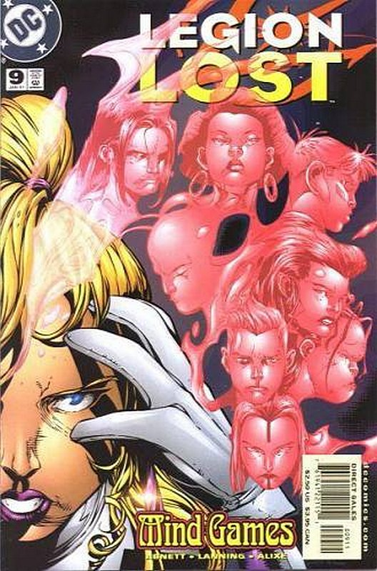 Cover of Legion Lost (2000 Ltd) #9. One of 250,000 Vintage American Comics on sale from Krypton!