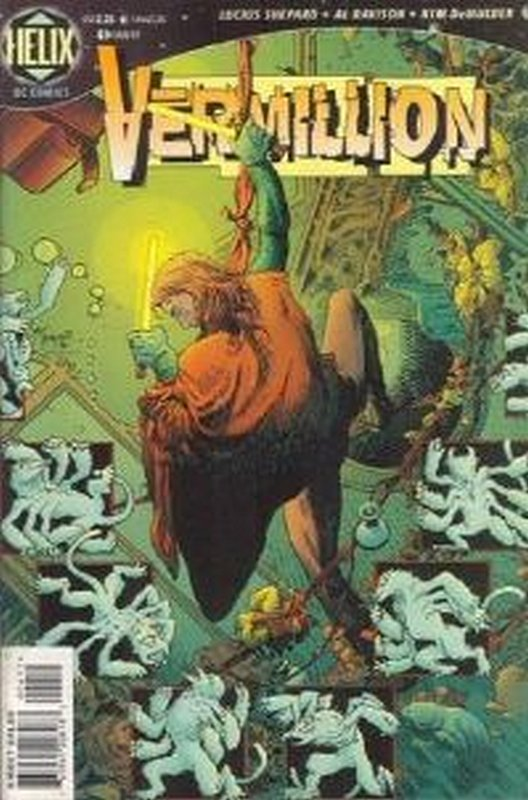 Cover of Vermillion (Vol 1) #4. One of 250,000 Vintage American Comics on sale from Krypton!