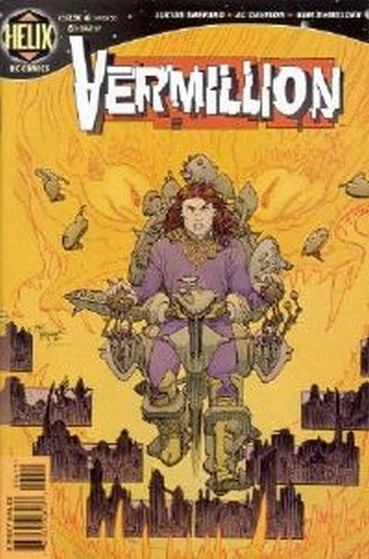 Cover of Vermillion (Vol 1) #6. One of 250,000 Vintage American Comics on sale from Krypton!