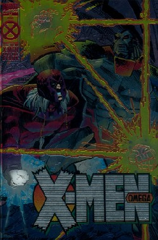 Cover of X-Men Omega (1995 One Shot) #1. One of 250,000 Vintage American Comics on sale from Krypton!