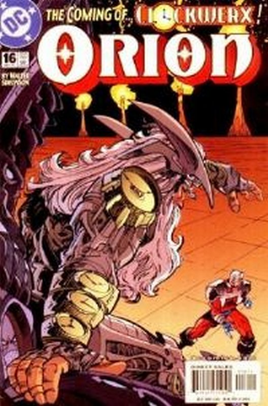 Cover of Orion (Vol 1) #16. One of 250,000 Vintage American Comics on sale from Krypton!