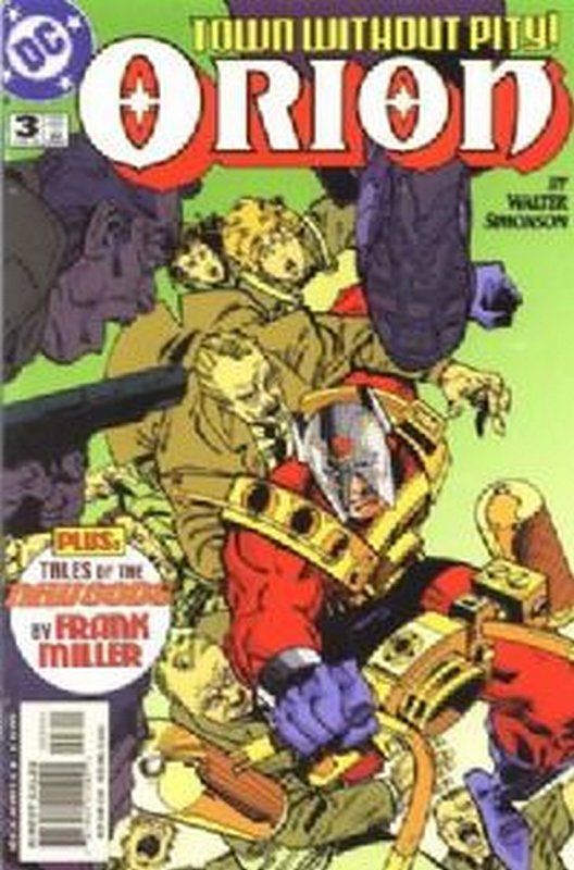 Cover of Orion (Vol 1) #3. One of 250,000 Vintage American Comics on sale from Krypton!
