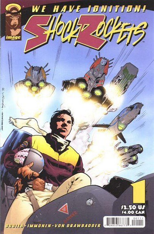 Cover of Shock Rockets (Vol 1) #1. One of 250,000 Vintage American Comics on sale from Krypton!