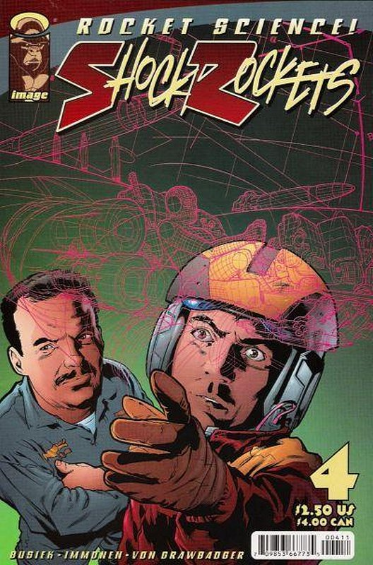 Cover of Shock Rockets (Vol 1) #4. One of 250,000 Vintage American Comics on sale from Krypton!