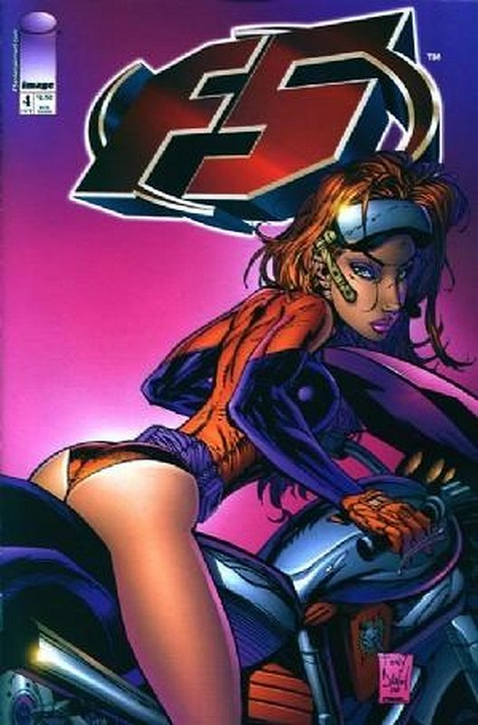 Cover of F5 (Vol 1) #4. One of 250,000 Vintage American Comics on sale from Krypton!