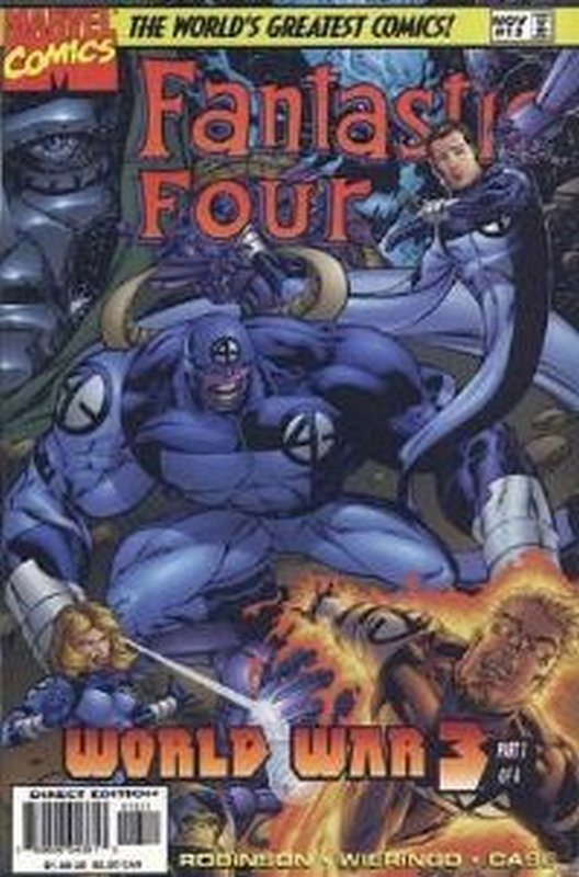 Cover of Fantastic Four (Vol 2) #13. One of 250,000 Vintage American Comics on sale from Krypton!