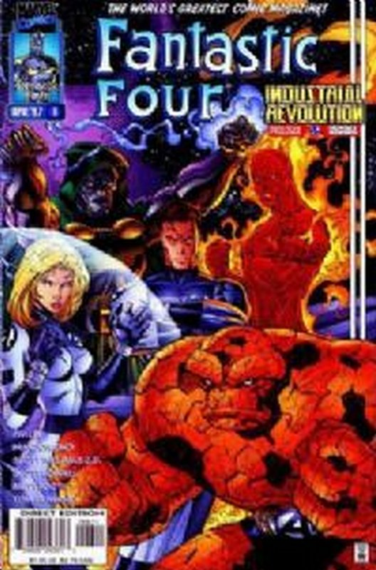 Cover of Fantastic Four (Vol 2) #6. One of 250,000 Vintage American Comics on sale from Krypton!
