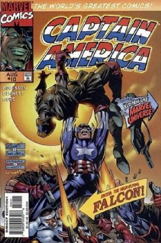 Cover of Captain America (Vol 2) #10. One of 250,000 Vintage American Comics on sale from Krypton!