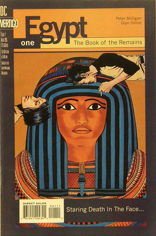 Cover of Egypt (1996 Ltd) #1. One of 250,000 Vintage American Comics on sale from Krypton!
