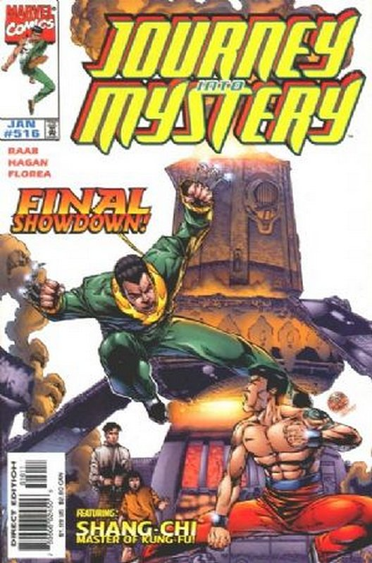 Cover of Journey Into Mystery (Vol 3) #516. One of 250,000 Vintage American Comics on sale from Krypton!