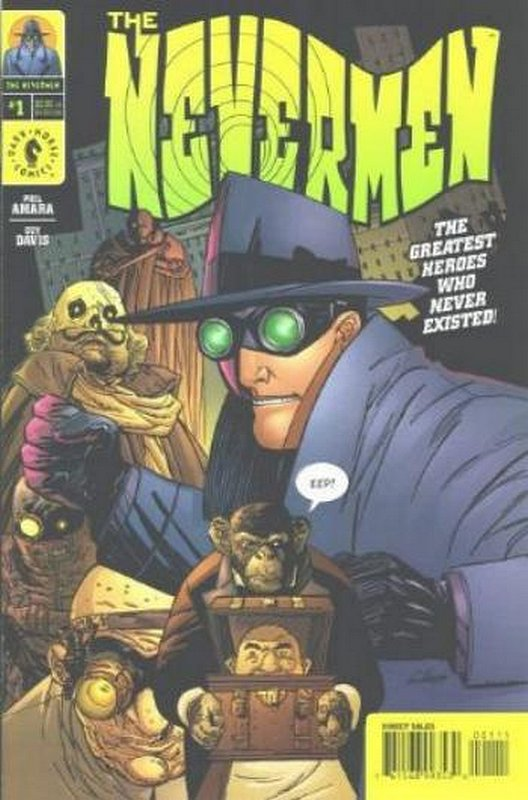 Cover of Nevermen (2000 Ltd) #1. One of 250,000 Vintage American Comics on sale from Krypton!