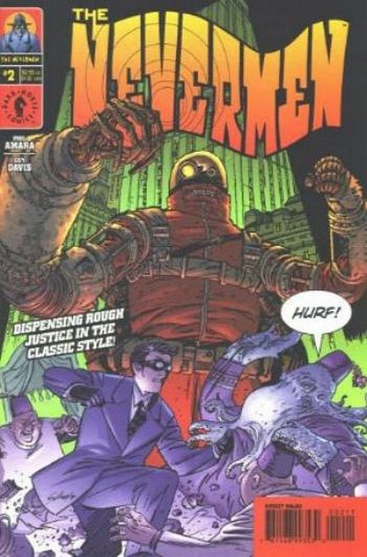 Cover of Nevermen (2000 Ltd) #2. One of 250,000 Vintage American Comics on sale from Krypton!