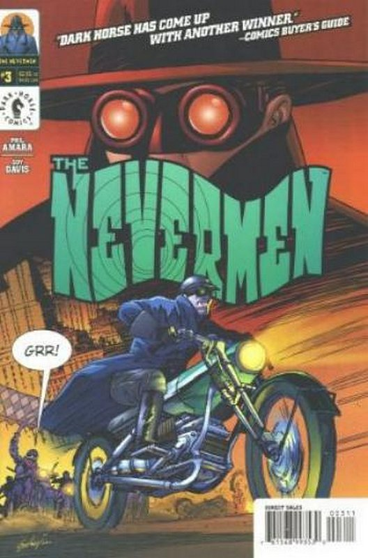 Cover of Nevermen (2000 Ltd) #3. One of 250,000 Vintage American Comics on sale from Krypton!