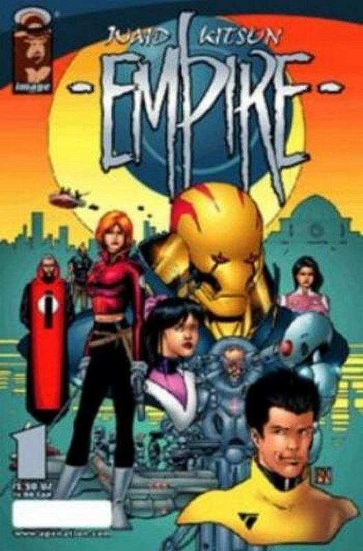 Cover of Empire (Image) (Vol 1) #1. One of 250,000 Vintage American Comics on sale from Krypton!