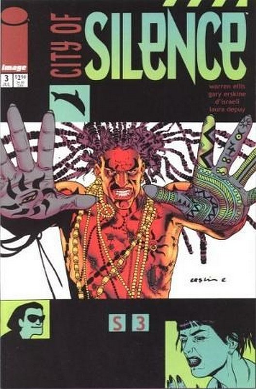 Cover of City of Silence (2000 Ltd) #3. One of 250,000 Vintage American Comics on sale from Krypton!