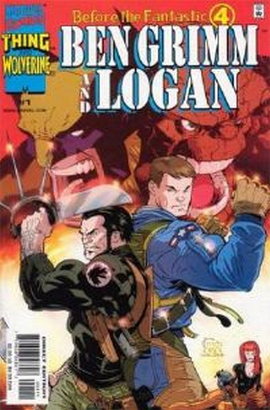 Cover of Before the Four: Grimm & Logan (2000 Ltd) #1. One of 250,000 Vintage American Comics on sale from Krypton!