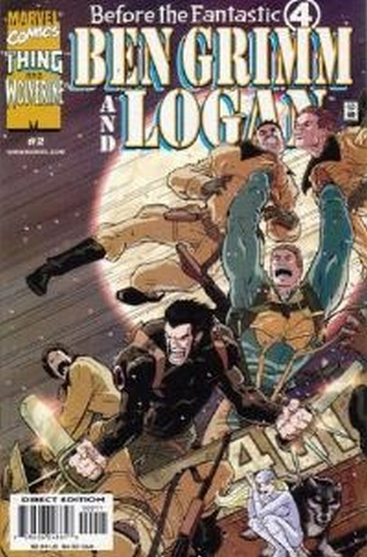 Cover of Before the Four: Grimm & Logan (2000 Ltd) #2. One of 250,000 Vintage American Comics on sale from Krypton!