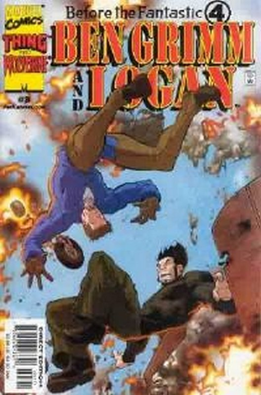 Cover of Before the Four: Grimm & Logan (2000 Ltd) #3. One of 250,000 Vintage American Comics on sale from Krypton!