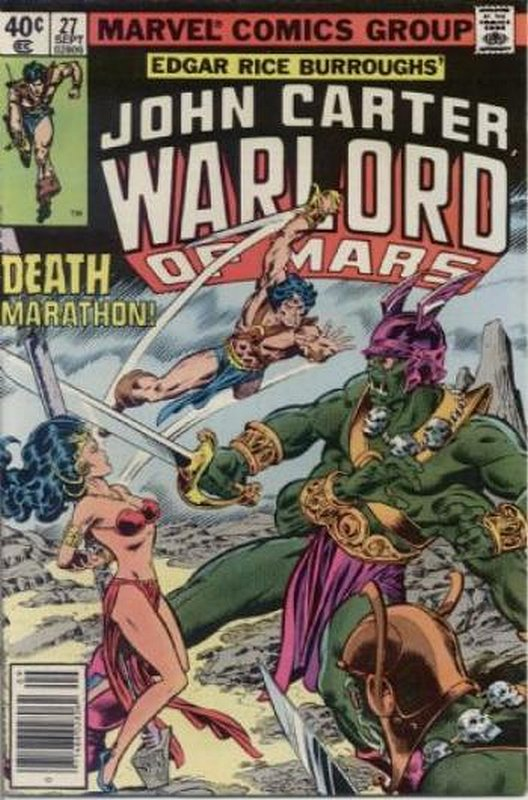 Cover of John Carter: Warlord or Mars (Vol 1) #27. One of 250,000 Vintage American Comics on sale from Krypton!