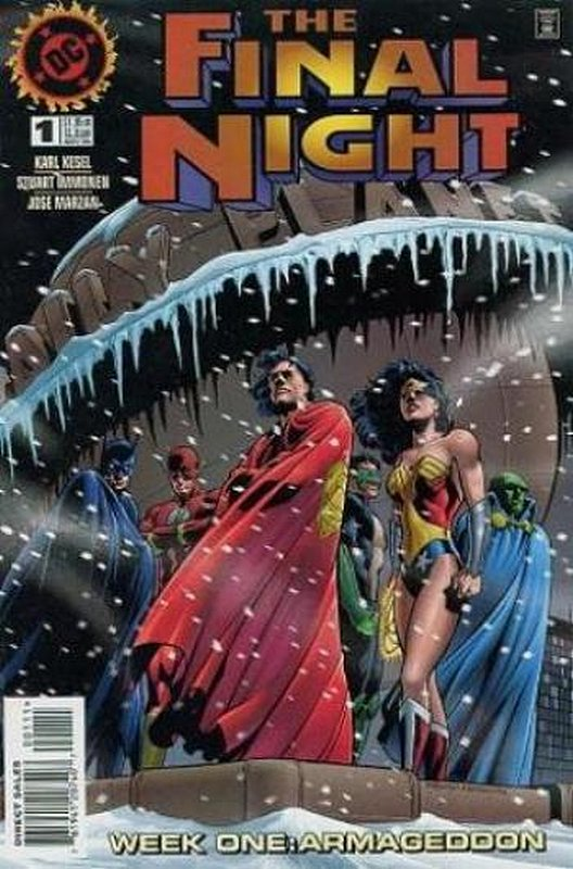 Cover of Final Night (1996 Ltd) #1. One of 250,000 Vintage American Comics on sale from Krypton!