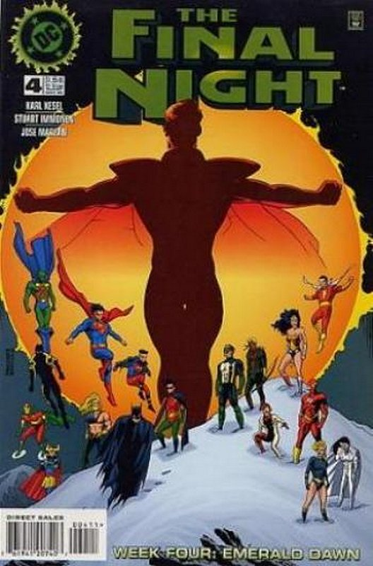 Cover of Final Night (1996 Ltd) #4. One of 250,000 Vintage American Comics on sale from Krypton!