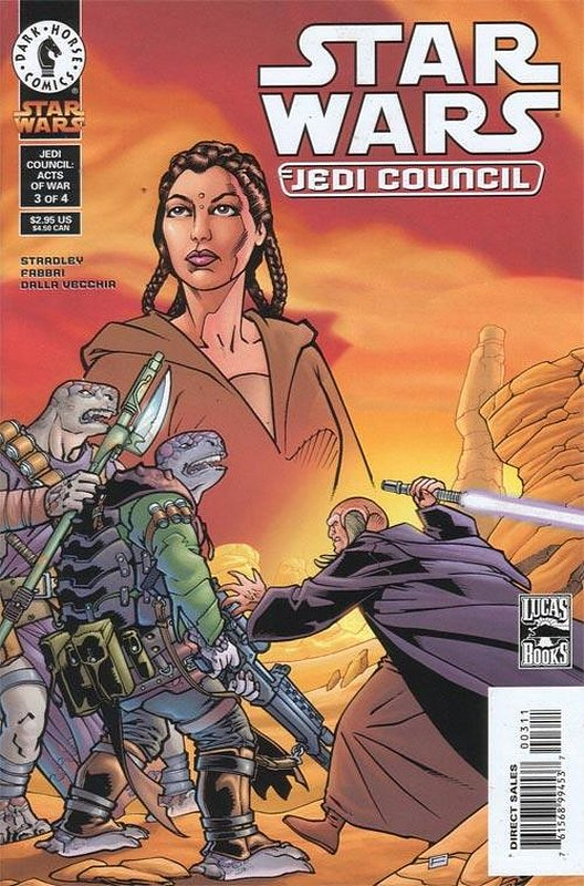 Cover of Star Wars: Jedi Council (2000 Ltd) #3. One of 250,000 Vintage American Comics on sale from Krypton!