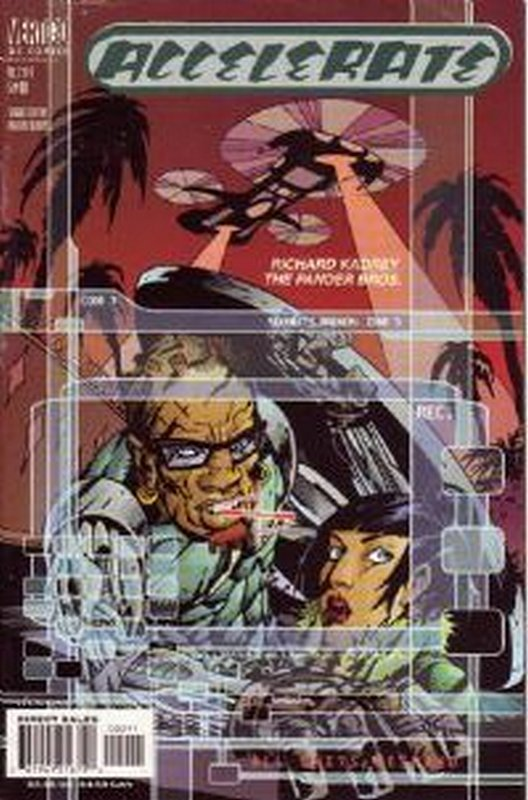Cover of Accelerate (2000 Ltd) #2. One of 250,000 Vintage American Comics on sale from Krypton!