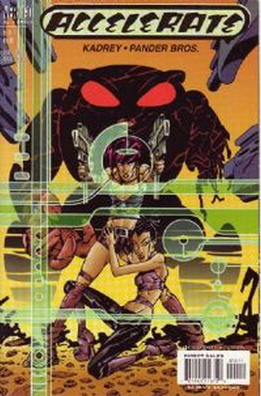 Cover of Accelerate (2000 Ltd) #4. One of 250,000 Vintage American Comics on sale from Krypton!