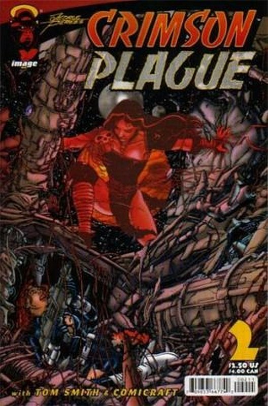 Cover of Crimson Plague (Vol 1) #2. One of 250,000 Vintage American Comics on sale from Krypton!