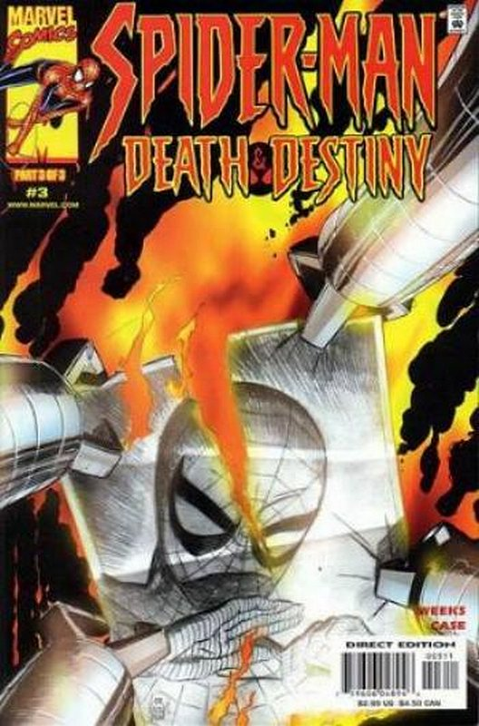 Cover of Spider-Man: Death & Destiny (2000 Ltd) #3. One of 250,000 Vintage American Comics on sale from Krypton!
