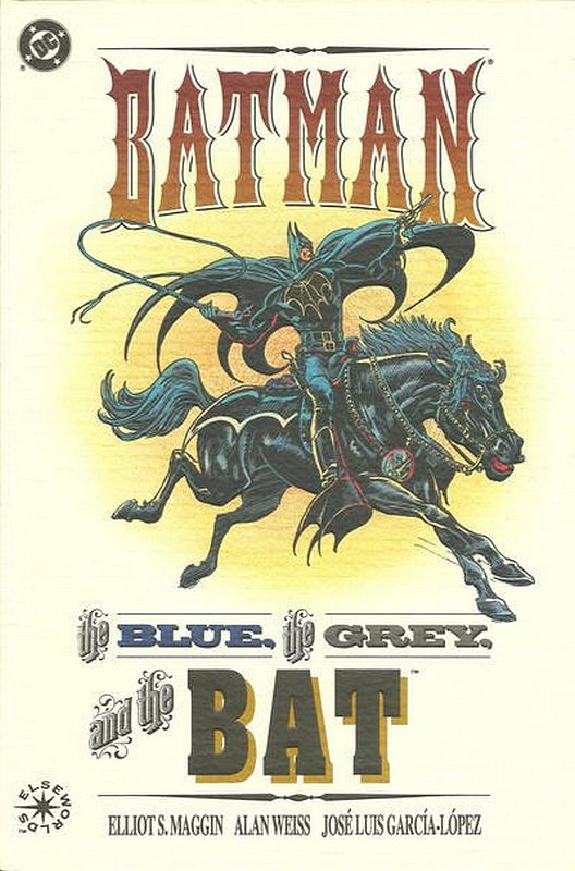 Cover of Batman: The Blue & the Grey & the Bat #1. One of 250,000 Vintage American Comics on sale from Krypton!