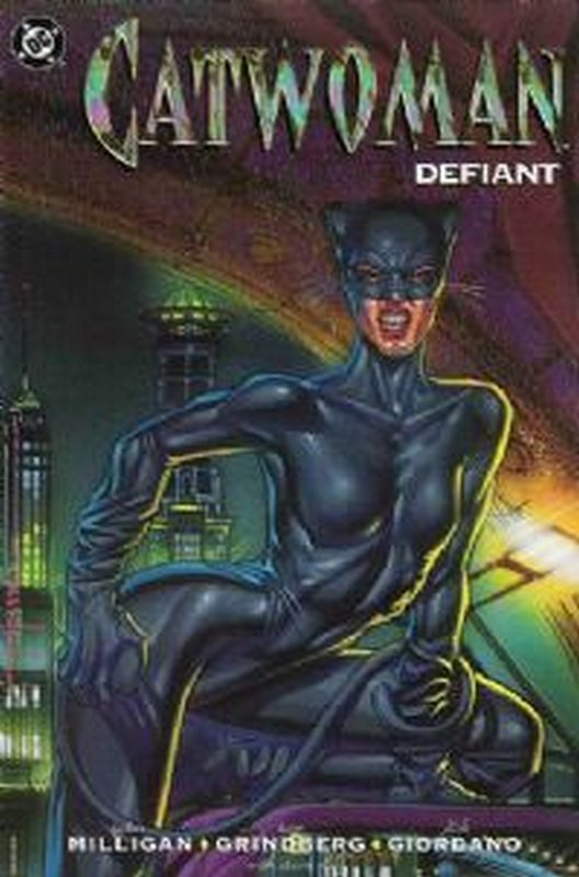 Cover of Catwoman Defiant (1992 One Shot) #1. One of 250,000 Vintage American Comics on sale from Krypton!