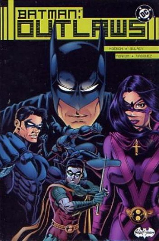 Cover of Batman: Outlaws (2000 Ltd) #3. One of 250,000 Vintage American Comics on sale from Krypton!