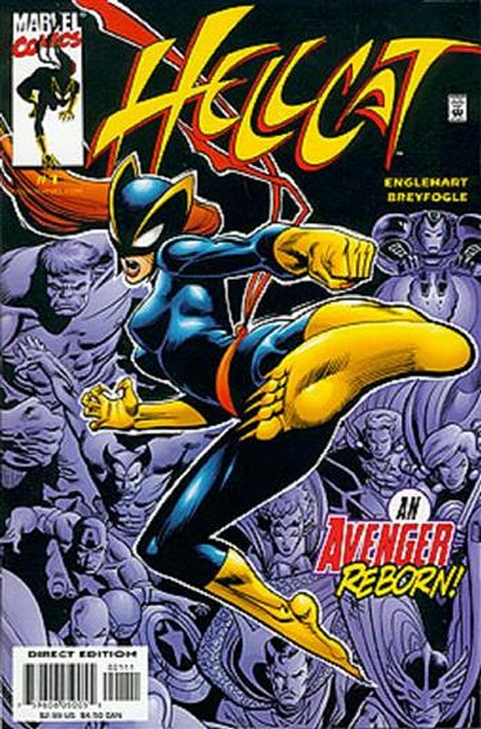 Cover of Hellcat (2000 Ltd) #1. One of 250,000 Vintage American Comics on sale from Krypton!