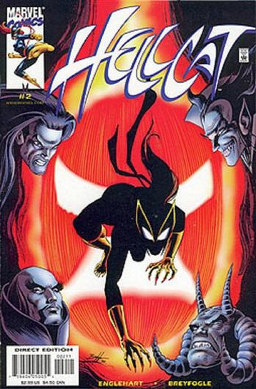 Cover of Hellcat (2000 Ltd) #2. One of 250,000 Vintage American Comics on sale from Krypton!