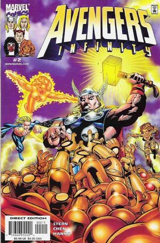 Cover of Avengers Infinity (2000 Ltd) #2. One of 250,000 Vintage American Comics on sale from Krypton!