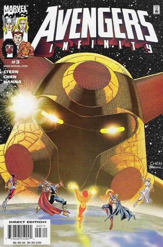 Cover of Avengers Infinity (2000 Ltd) #3. One of 250,000 Vintage American Comics on sale from Krypton!