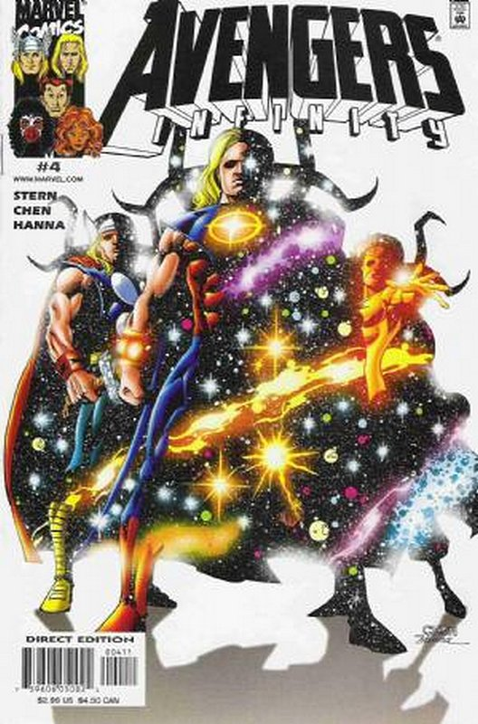 Cover of Avengers Infinity (2000 Ltd) #4. One of 250,000 Vintage American Comics on sale from Krypton!