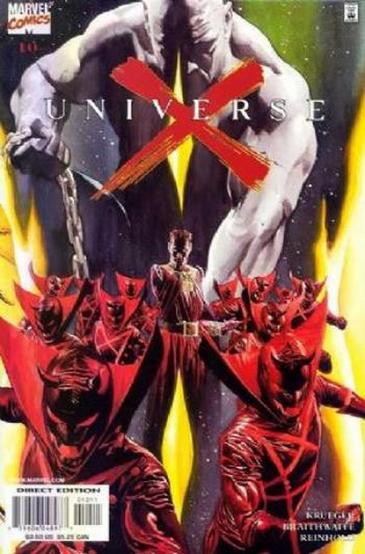 Cover of Universe X (2000 Ltd) #10. One of 250,000 Vintage American Comics on sale from Krypton!