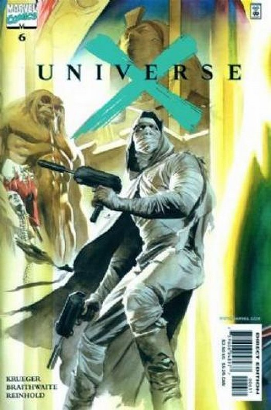 Cover of Universe X (2000 Ltd) #6. One of 250,000 Vintage American Comics on sale from Krypton!