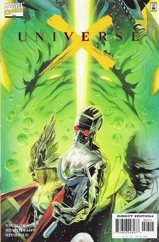 Cover of Universe X (2000 Ltd) #7. One of 250,000 Vintage American Comics on sale from Krypton!