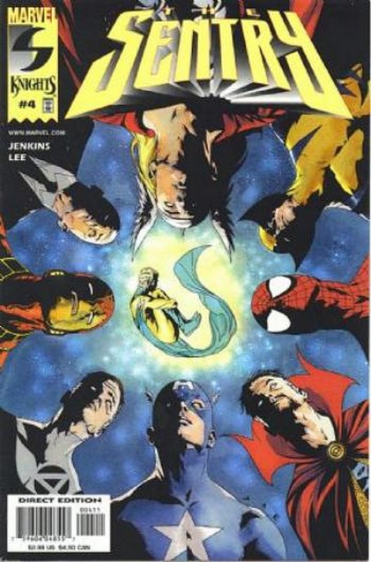 Cover of Sentry (2000 Ltd) #4. One of 250,000 Vintage American Comics on sale from Krypton!