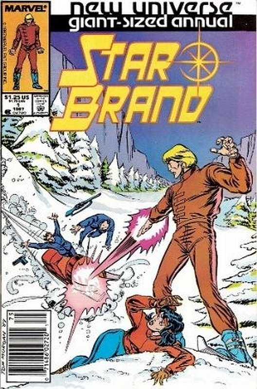 Cover of Star Brand Annual (1987 One Shot) #1. One of 250,000 Vintage American Comics on sale from Krypton!