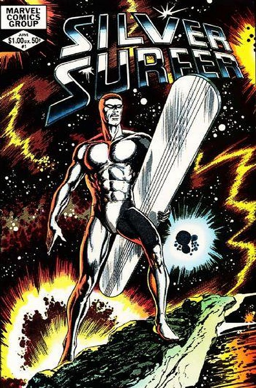 Cover of Silver Surfer (1982 One Shot) #1. One of 250,000 Vintage American Comics on sale from Krypton!
