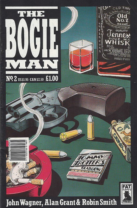 Cover of Bogie Man, The #2. One of 250,000 Vintage American Comics on sale from Krypton!